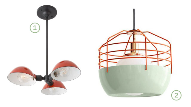 Kitchen Lighting Options from Making it Lovely (Love these!)