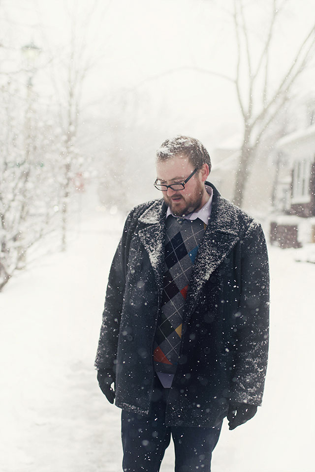 Brandon in the Snow