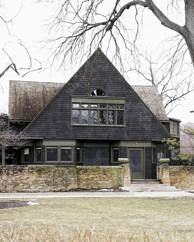 frank lloyd wright 39 s home and studio in oak park making it lovely. Black Bedroom Furniture Sets. Home Design Ideas