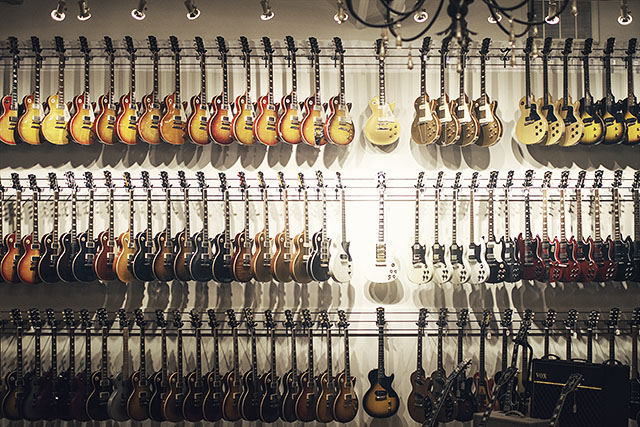 Guitars at Chicago Music Exchange