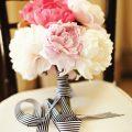 striped bouquet