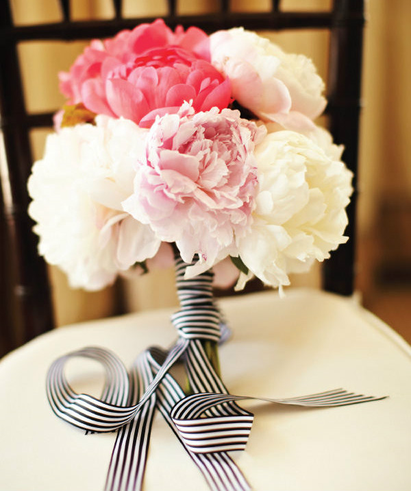 striped bouquet