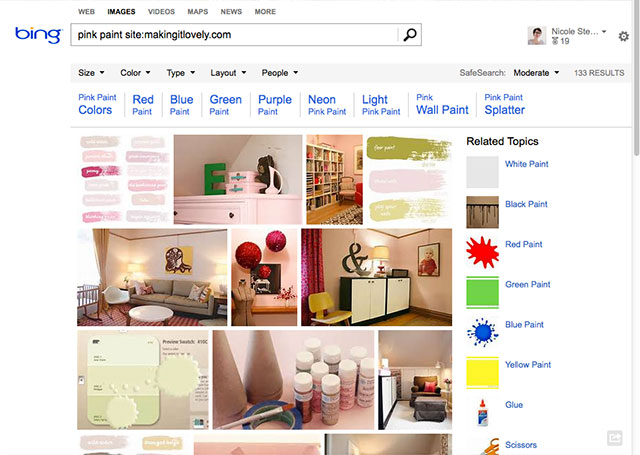 Bing — Pin To Pinterest