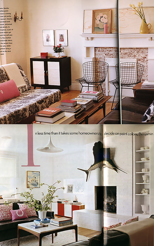 Genifer Goodman-Sohr's Living Rooms