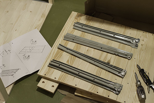 Step 1 of Building the IVAR Drawer Unit