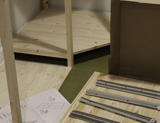 Step 1 of Building the IVAR Drawer Unit