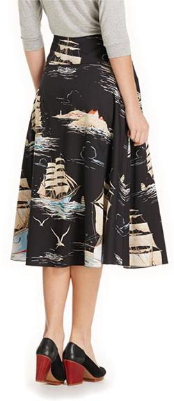 Sailaway Circle Skirt
