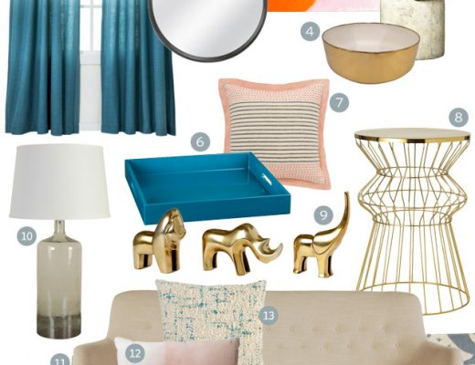 Living Room Design Featuring Target Threshold
