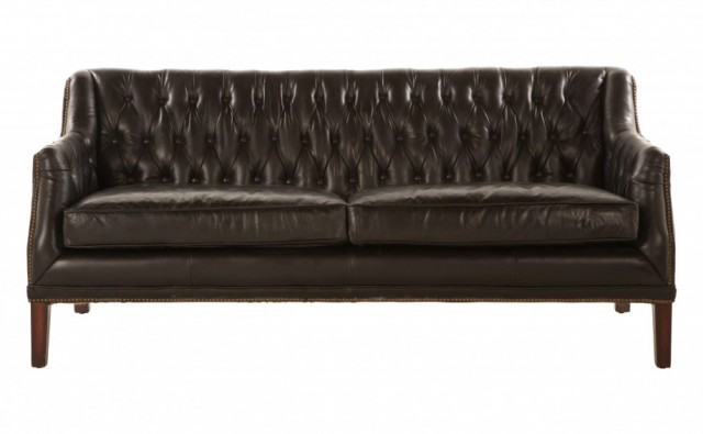 Maxwell Leather Sofa from Jayson Home and Garden