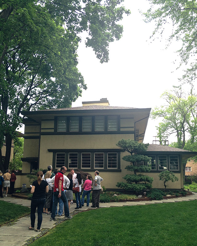 The Flori Blondeel House, Oak Park, IL