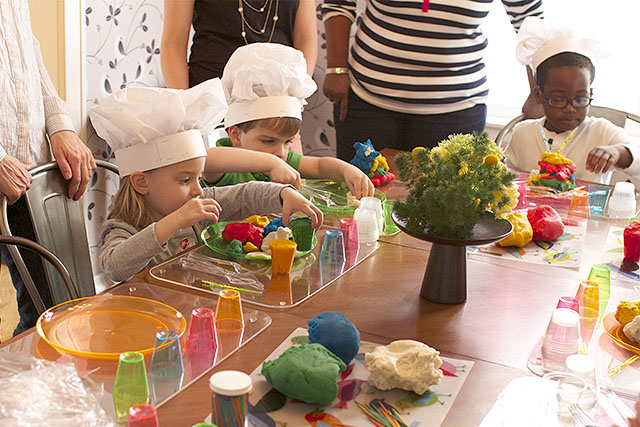 Play Dough Stations
