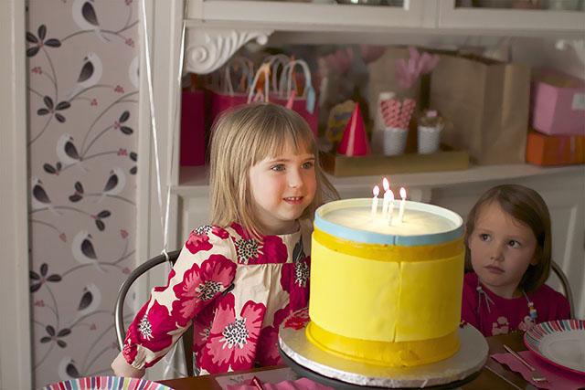 Play-Doh Birthday Cake
