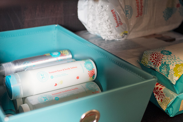Lotion, Wipes, and Diaper Storage