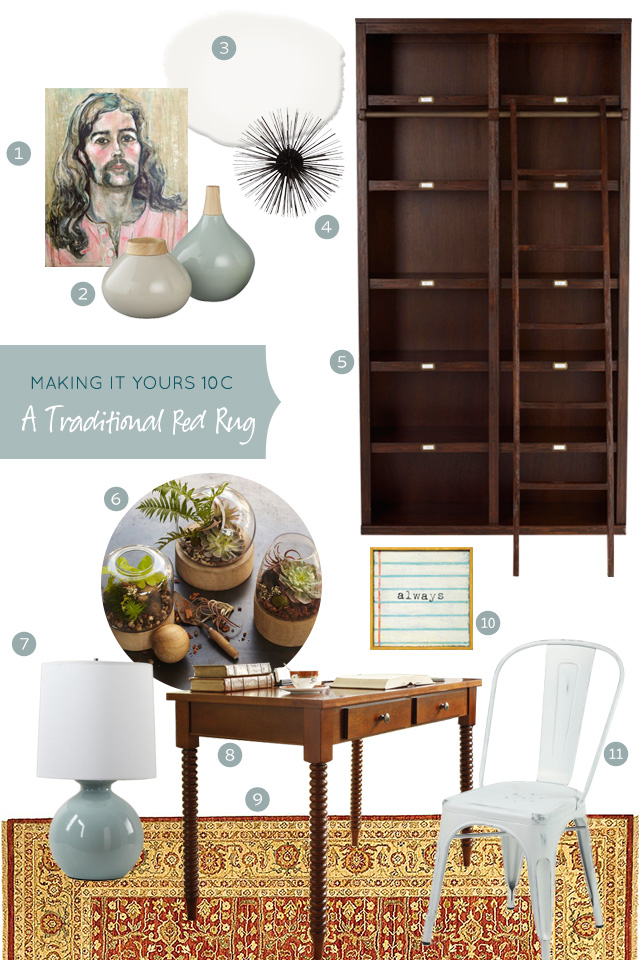 Making it Yours 10C: Home Library and Writing Desk