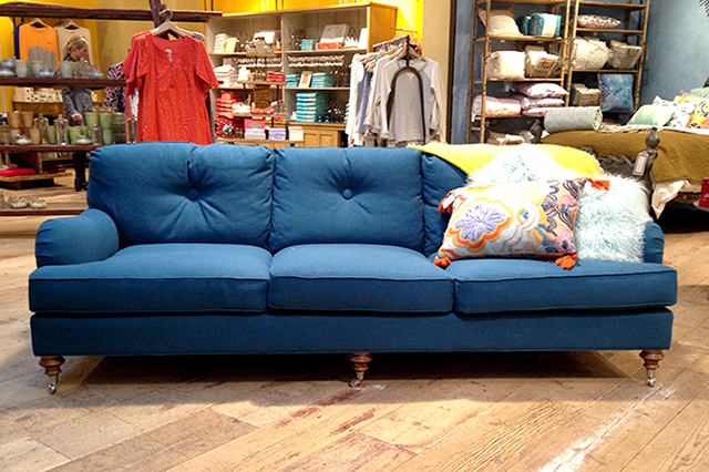 Winifred Blue Sofa at Anthropologie
