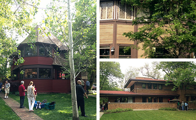 Frank Lloyd Wright Homes, Oak Park, IL