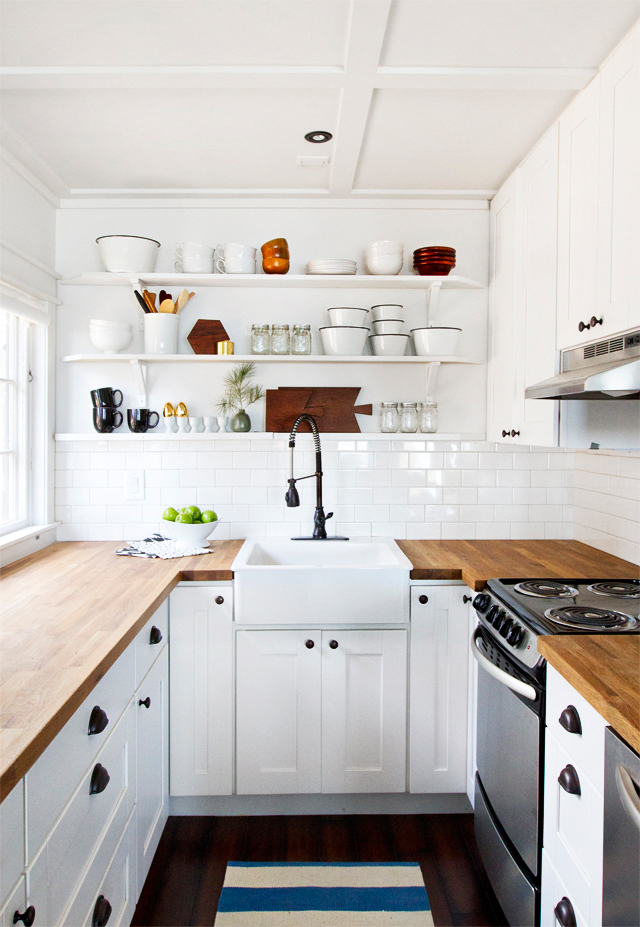 Cabin Kitchen Makeover