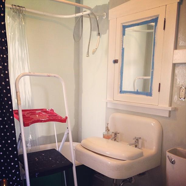 Painting the Bathroom
