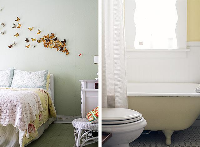 Camp Wandawega Bedroom and Bath