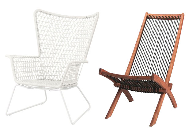 IKEA Outdoor Lounge Chairs