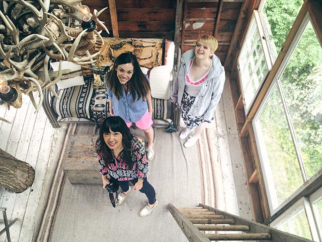 Kim, Jess, and Heidi