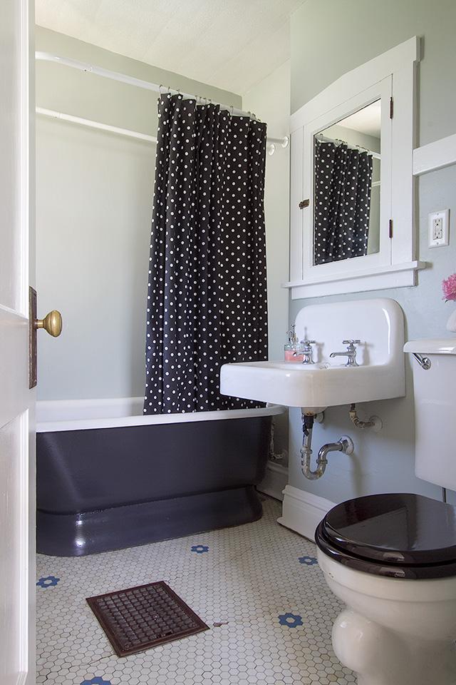 attic remodel floor plans - Our Vintage Bathroom Making it Lovely