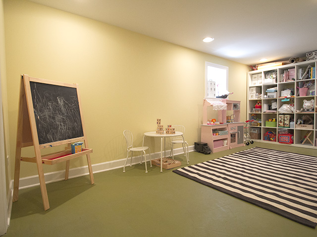 Basement Play Room