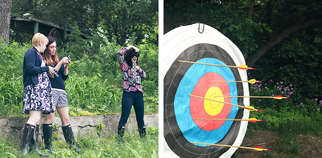 Photography and Archery