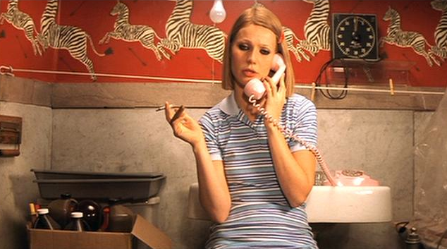 Scalamandre Zebra Wallpaper in Royal Tenenbaums