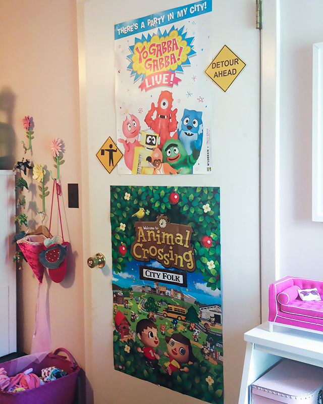 The Back of Eleanor's Bedroom Door