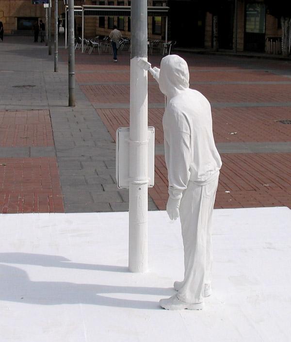 Mark Jenkins Sculpture