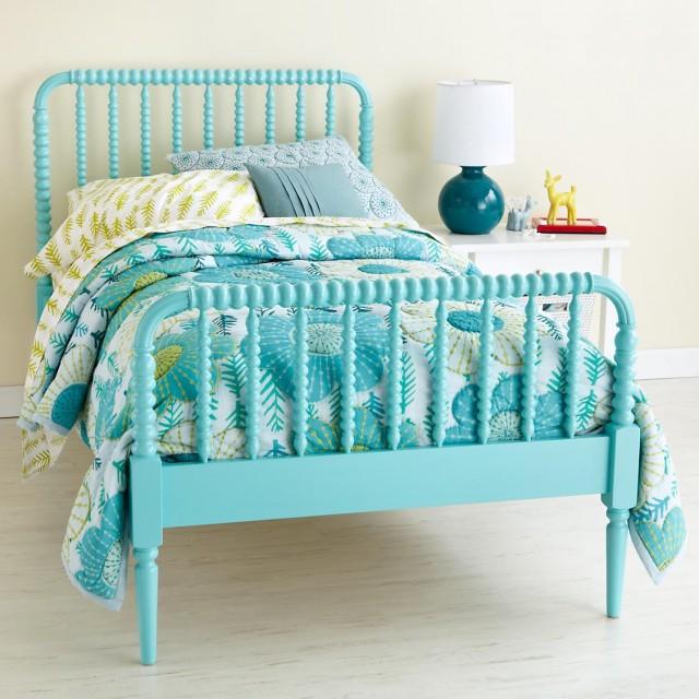 Jenny Lind blue (azure) bed