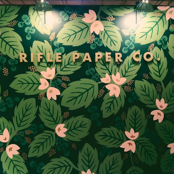 Rifle Paper Co. Mural