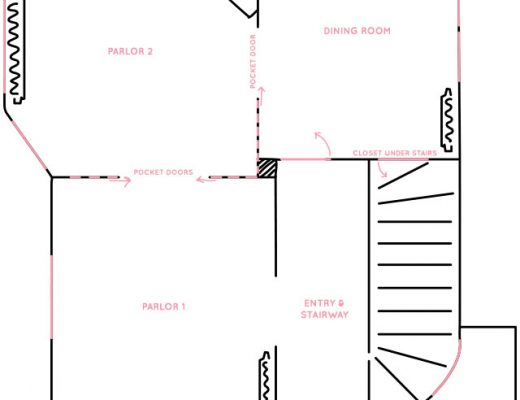 Victorian House First Floor Layout