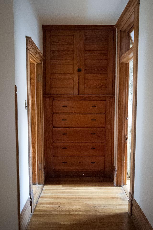 Built-in Hallway Storage