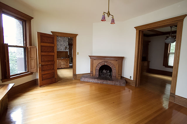 Fireplace in the Second Parlor