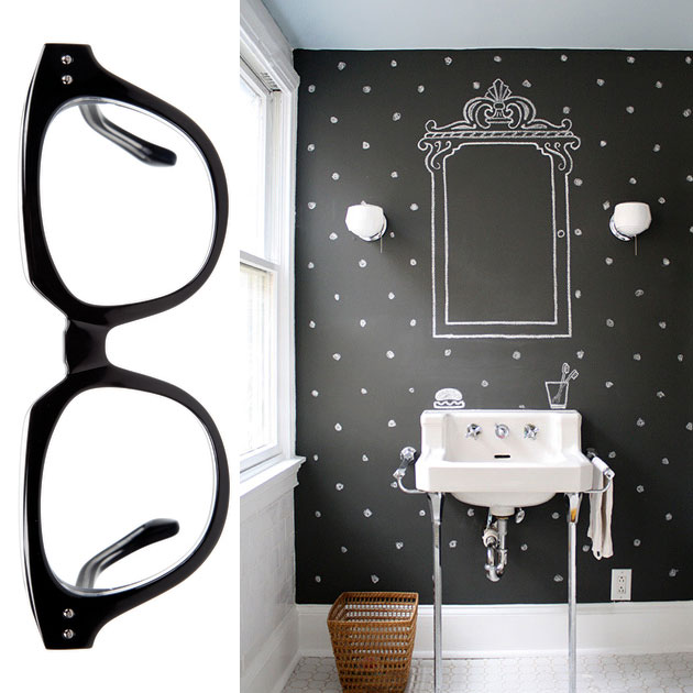Eye Spy: Modern Glasses Inspired Room