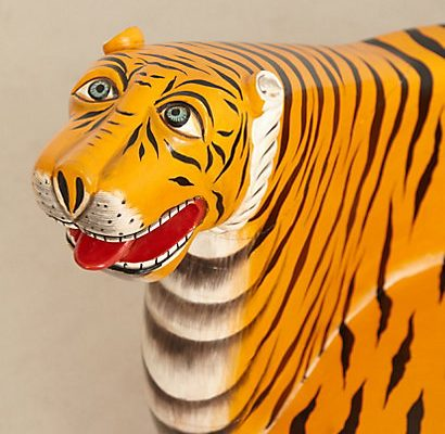 Crazy-Awesome Tiger Bench