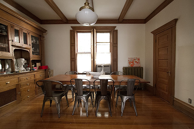Dining Room, Shortly After Moving In