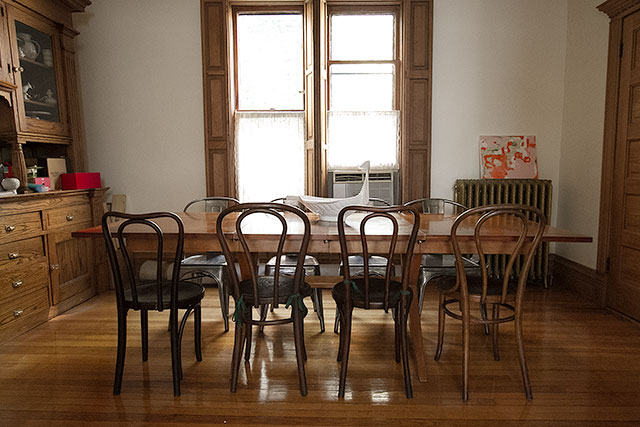 The Dining Room Shortly After Moving in Making it Lovely – Thonet Dining Chair