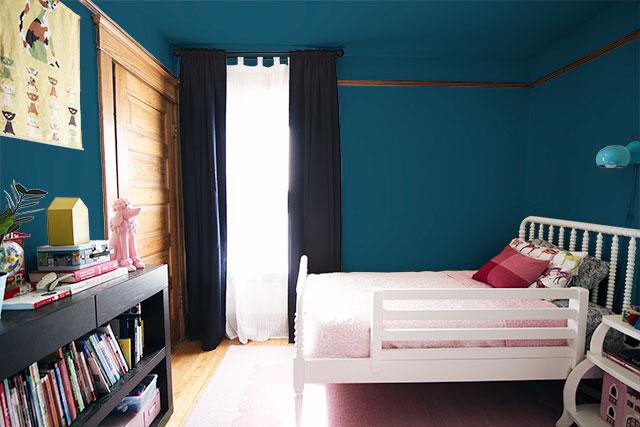 E's Room Mock-up - Blue