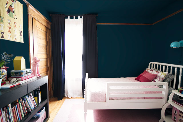 E's Room Mock-up - Dark Blue