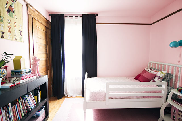 E's Room Mock-up - Pink