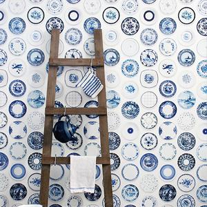 Hanging Plates Wallpaper