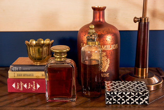 Brass Bourbon Decanters