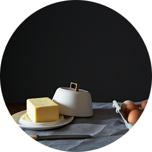 A Beutiful Butter Dish