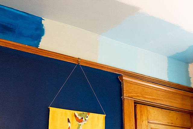 Testing Ceiling Colors