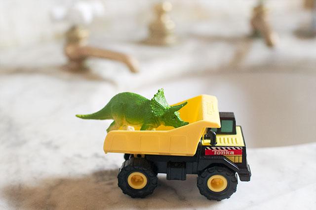 Dino in a Dump Truck