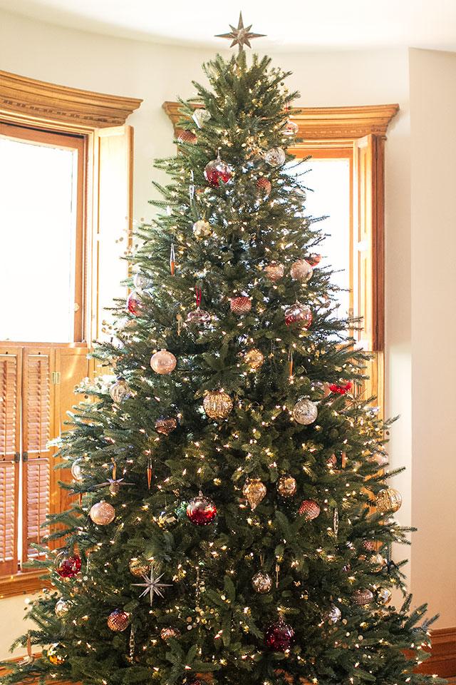 Traditional Green Christmas Tree