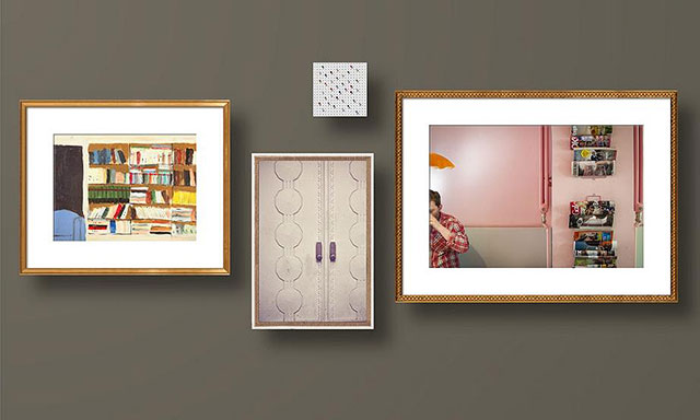 Artfully Walls Gallery Art Arrangement by Making it Lovely